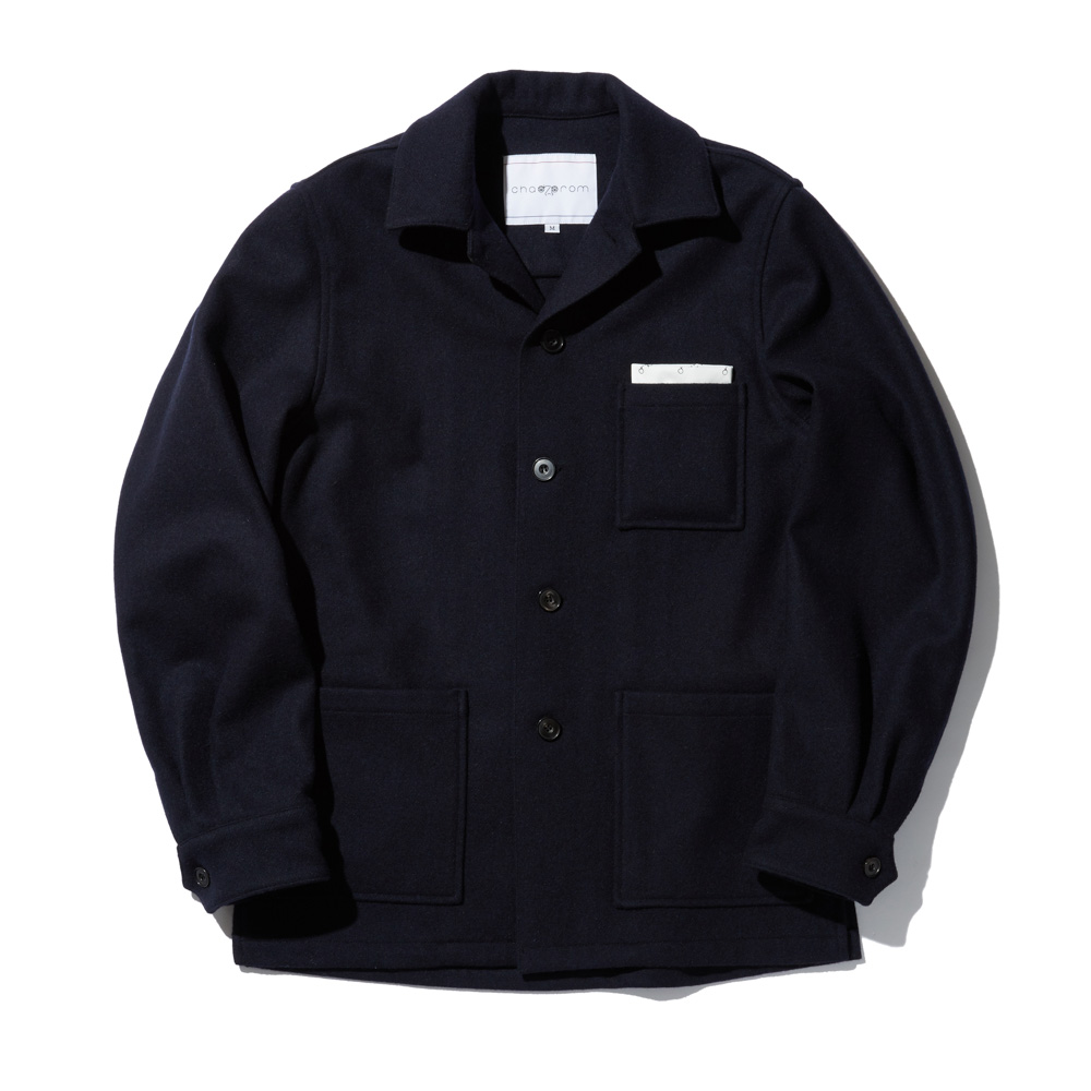 OVER CARDIGAN JACKET NAVY