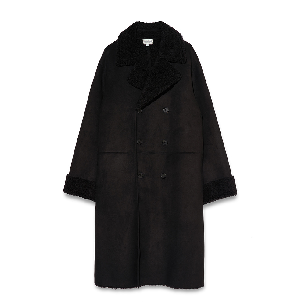Suede Double Mouton(Black Color)
