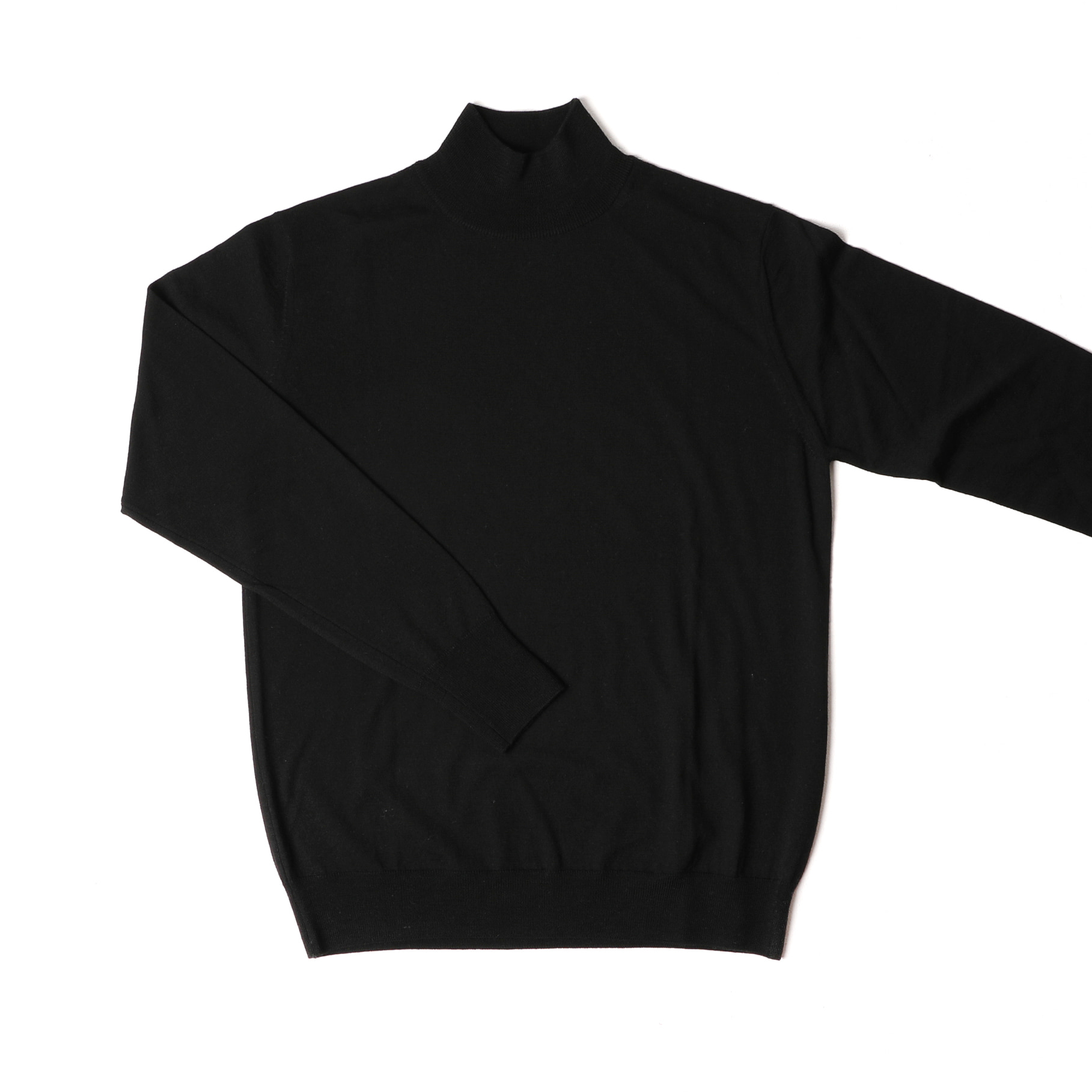 Half Turtleneck Sweater Black