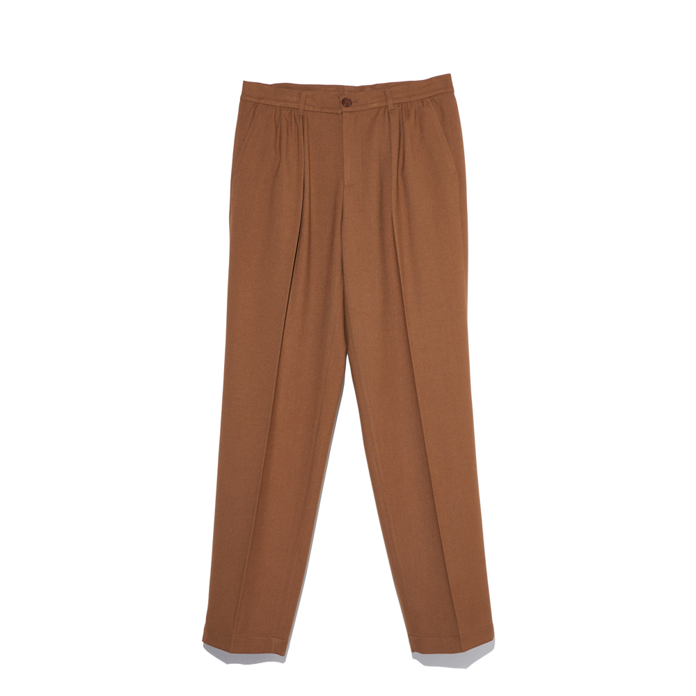 """Shirring Pants""  Camel"