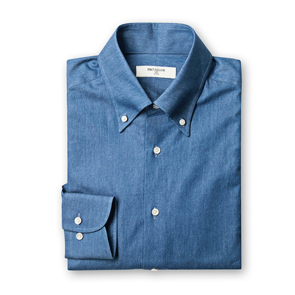 B&TAILOR RTW Denim Shirt