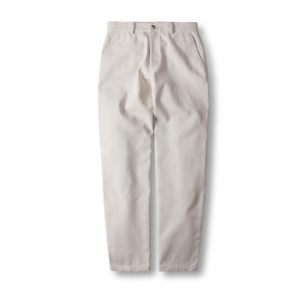 Denim Chino Pants Cream