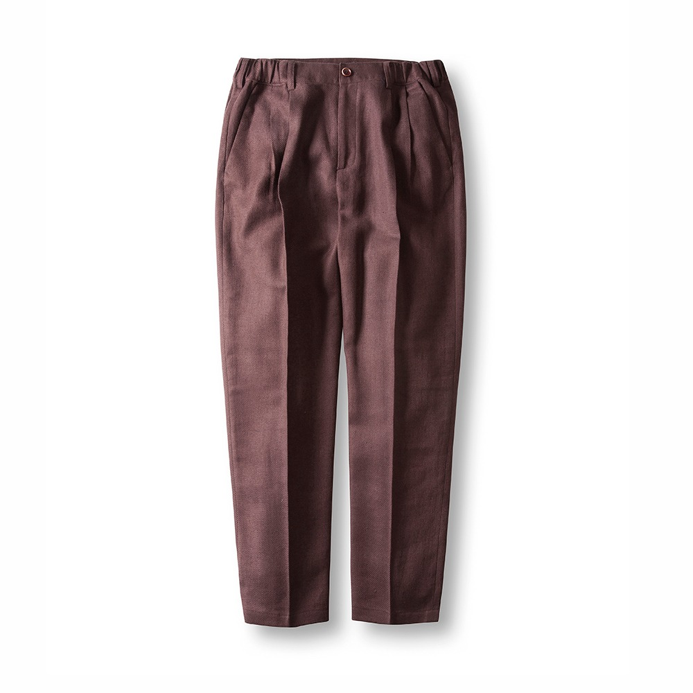 Ver.4 Linen comfy pants - Brown