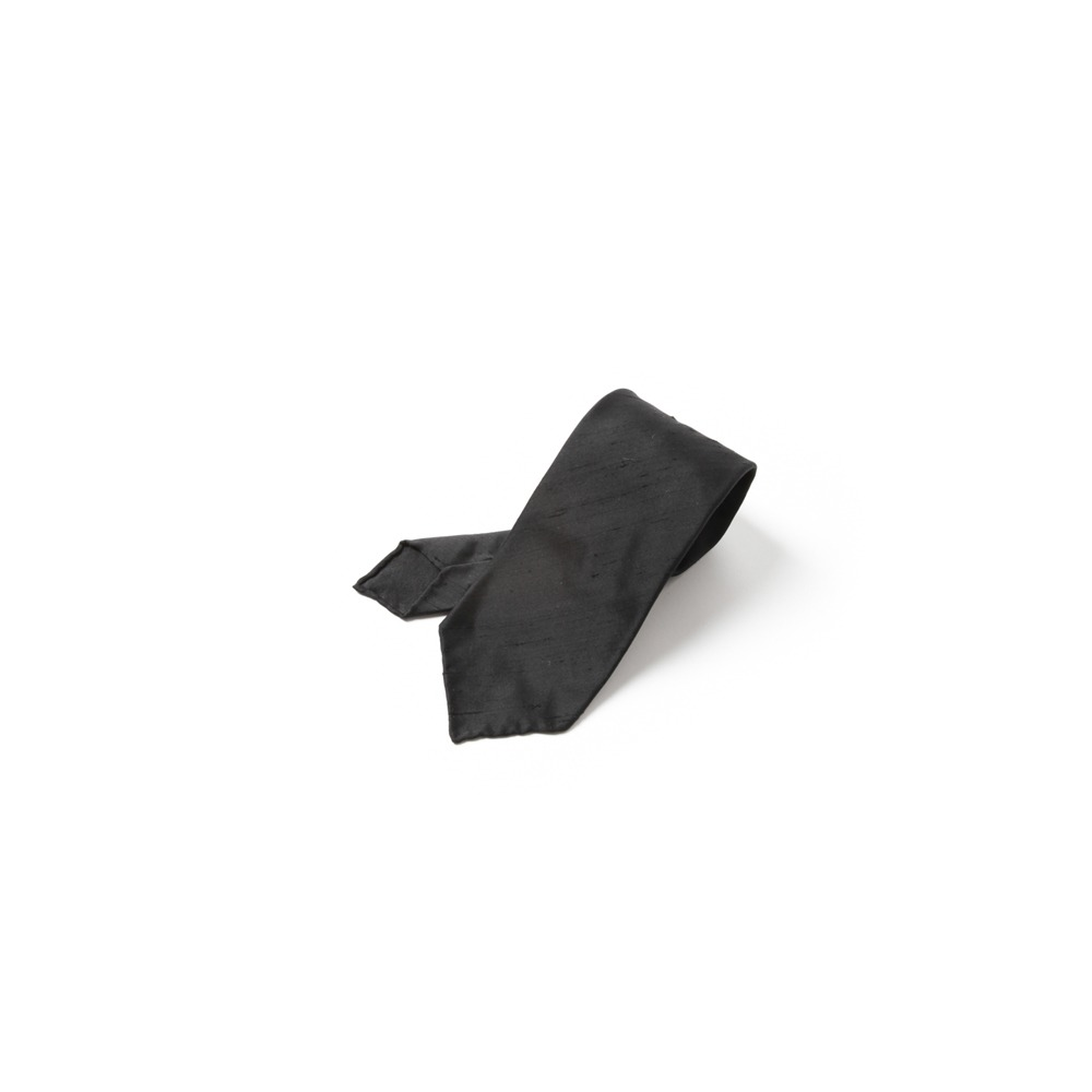 B&TAILOR Unlining 3Fold Ties-14 black