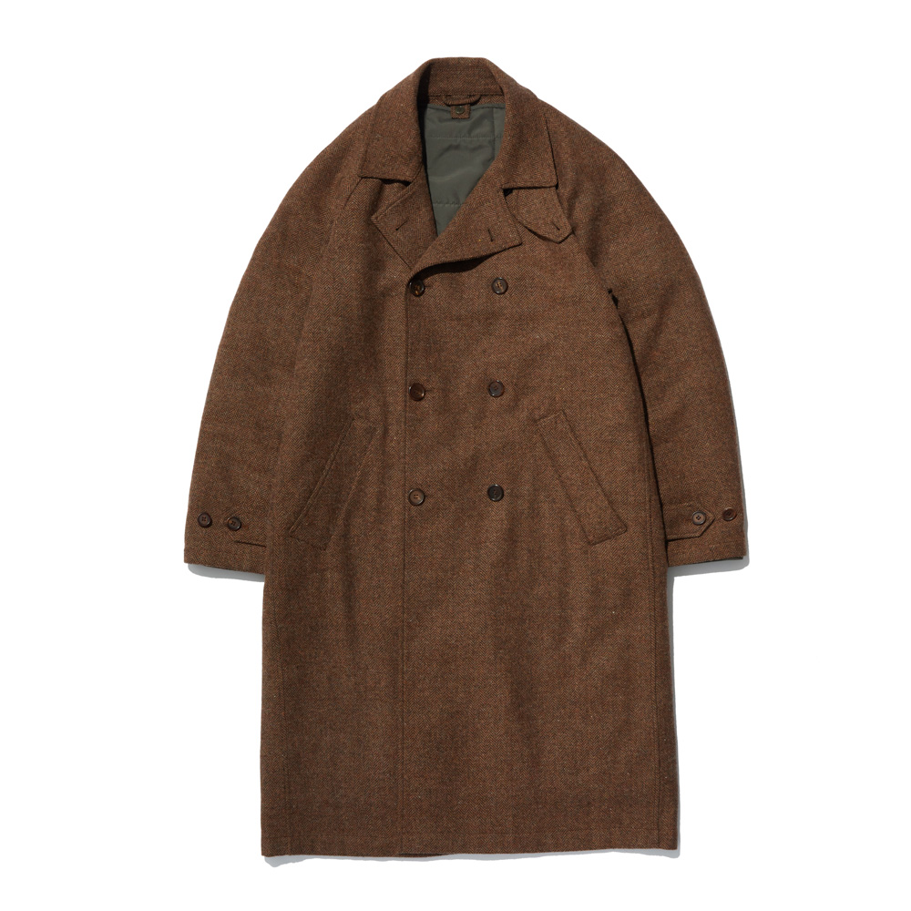 HYBRID COAT BROWN