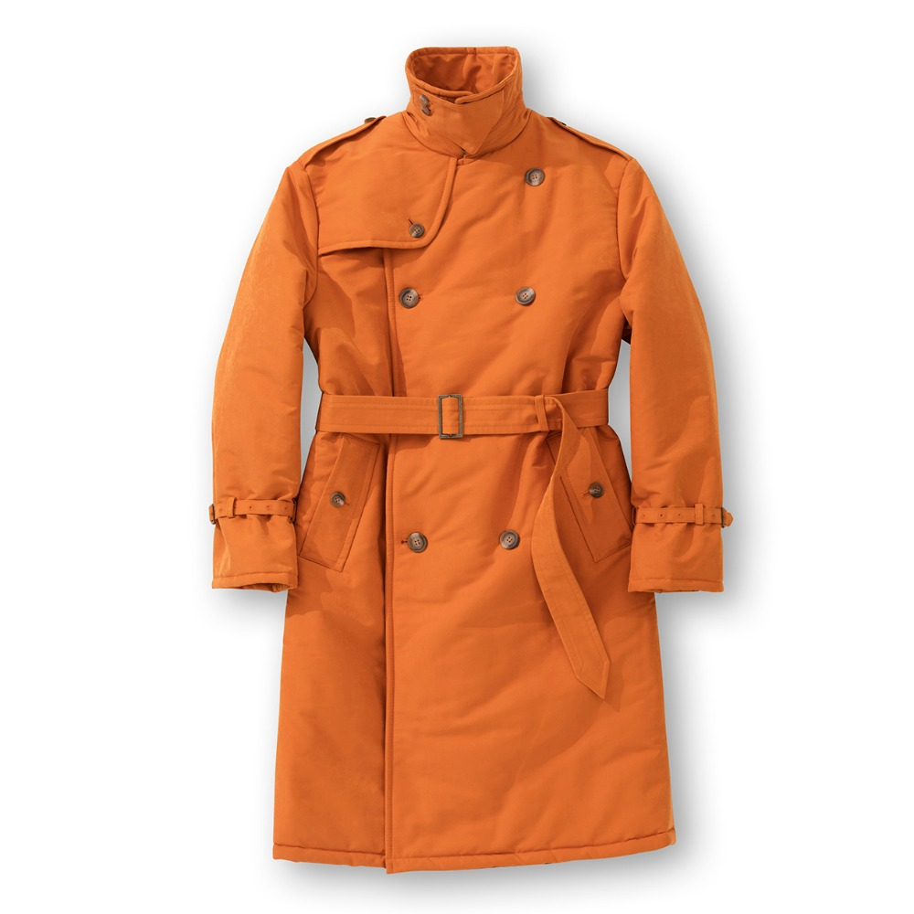 Trench Padding - Orange