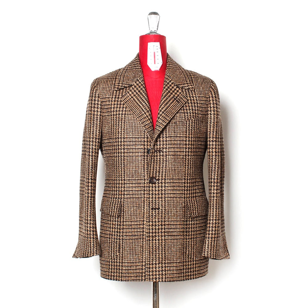 B&TAILOR RTW Glen Check Coat